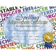 Spelling Achievement 30/pk 8.5x11