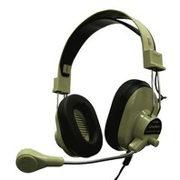 Deluxe Multimedia Headphone W/ Mic