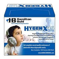 HygenX Sanitary Headphone Covers for Over Ear Headsets (50 Pair)