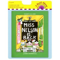 Miss Nelson Is Back book and CD (A Read-Along)