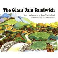 The Giant Jam Sandwich Book & CD (Read Along Book & CD)