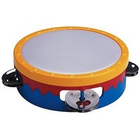 "Hohner Kids / 6"" Multicolored Tamborine (Colors May Vary)"