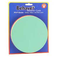 BEHAVIOR CARDS 5 CIRCLE CARDS 75