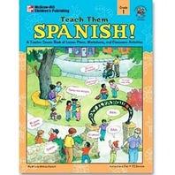 Carson Dellosa Teach Them Spanish Gr 1