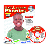 SING & LEARN PHONICS BOOK CD VOL 3