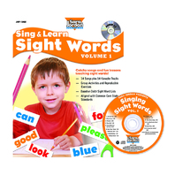 SING & LEARN SIGHT WORDS BOOK CD 1