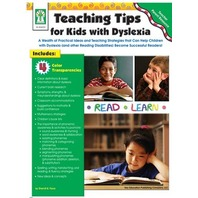 Teaching Tips For Kids With Dyslexia; Grades PK - 8