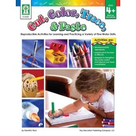Cut, Color, Trace, & Paste Book; Ages 4+; no. KE-804081