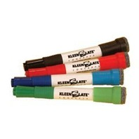Attachable Erasers For Dry Erase Markers; Asst. Colors; 4 Per Pack; no. KLS0832