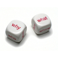 INTERROGATIVE DICE SET OF 10