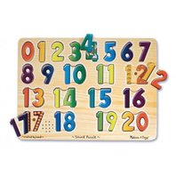 Numbers Sound Puzzle; Ages 2 & Up; no. LCI339