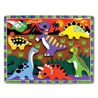 Melissa & Doug Dinosaur Chunky Puzzle