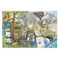 Melissa & Doug Endangered Species 48 Piece Floor Puzzle