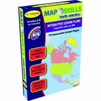 Map Skills North America Interactive Whiteboard Software