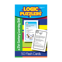 LOGIC PUZZLERS FLASH CARDS GR 3