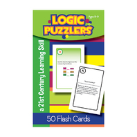 LOGIC PUZZLERS FLASH CARDS GR 5