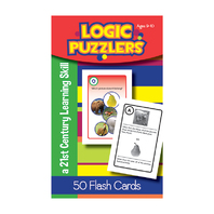 LOGIC PUZZLERS FLASH CARDS GR 6