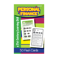 PERSONAL FINANCE FLASH CARDS GR 5