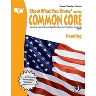 Show What You Know on the Common Core: Assessing Student Knowledge of the Common Core State Standards (CCSS), Grade 7 Mathematics (Parent/Teacher Edition)