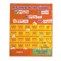 Learning Resources Spanish Syllables Pocket Chart