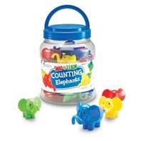 Learning Resources Snap n Learn Counting Elephants