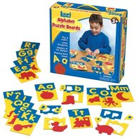 Lauri Toys Alphabet Puzzle Boards