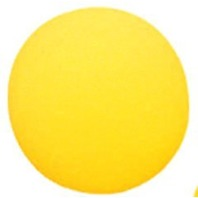 "8-1/2"" Foam Ball; Uncoated; Yellow; no. MASFBY85"
