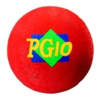"Playground Ball; Red; 10"" Diameter; no. MASPG10R"
