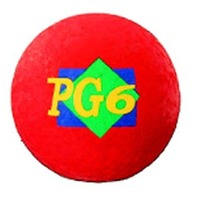 "Playground Ball; 6"" Red"