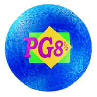"Playground Ball; 8-1/2"" Blue"