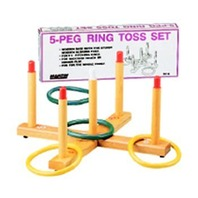 Ring Toss Game, Wood Base