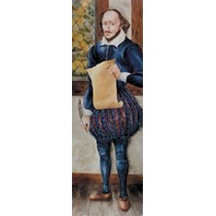 Colossal Characters: William Shakespeare; no. MC-H1405