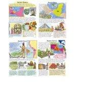 Mcdonald Publishing Mc-p090 Ancient American Cultures Teaching Poster Set