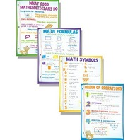 Teaching Poster Set: Math Basics; no. MC-P130