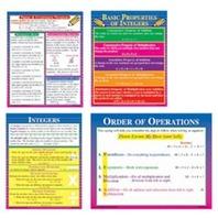 Teaching Poster Set: Pre-Algebra; no. MC-P141