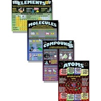 Teaching Poster Set: Atoms, Elements, Molecules & Compounds; no. MC-P153