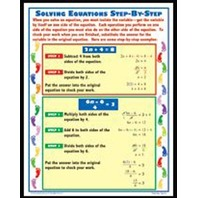 Teaching Poster Set: Exploring Algebra; no. MC-P202