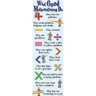 Colossal Poster: What Good Mathemeticians Do; no. MC-V1617