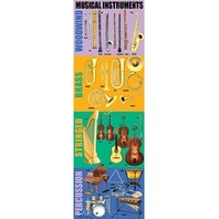 Colossal Poster: Musical Instruments; no. MC-V1651