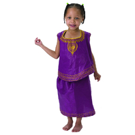 AFRICAN GIRL DRESS UP