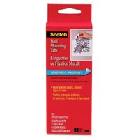 Scotch® Wall Mounting Tabs 7221, 1/2-inch x 3/4-inch, 144 Tabs