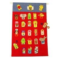 Get Ready Kids Alphabet Finger Puppets & Wall Chart