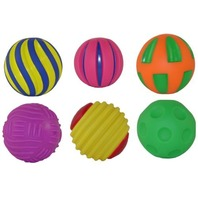 Get Ready Kids Tactile Balls, Set of 6