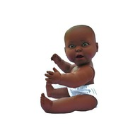 Infant Doll Skin Tone: African American