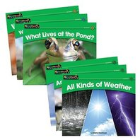 Rising Readers Leveled Books Set: Science Theme, 24 Title Set