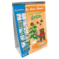NewPath Learning All About Animals Curriculum Mastery Flip Chart Set, Early Childhood