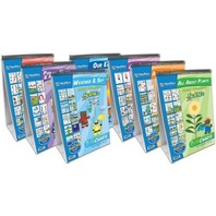NewPath Learning 7 Piece Science Readiness Flip Chart Set, Early Childhood