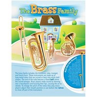 Musical Instruments Posters Set - 6 Posters; no. NST3037