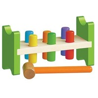 Classic Wooden Pound A Peg Toy