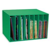 """Classroom Keepers Literature Center, 11 1/4""""HX17 3/8W""""X12 1/4""""D, Green"""